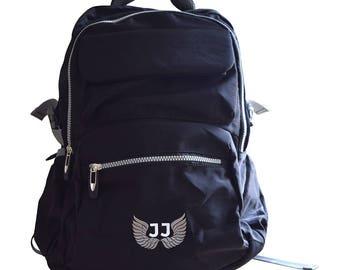 JJ Laptop Black Backpacks