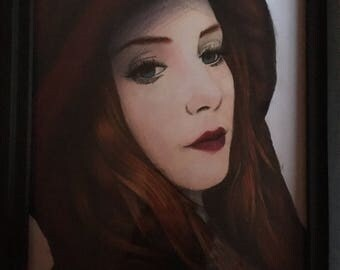 Simone Simons Portrait