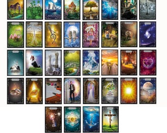Silver Edge Lenormand * * * * BRAND new on the market