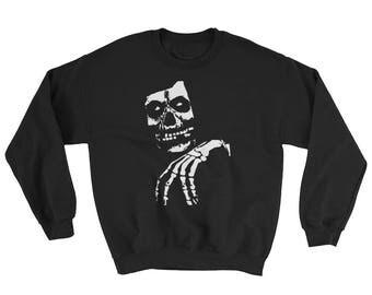 Misfits Legacy Skull Crew Neck Sweatshirt, Danzig, Samhain, Black Flag, Minor Threat, Exploited, Ramones