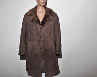 Coat skin and fur 70 s