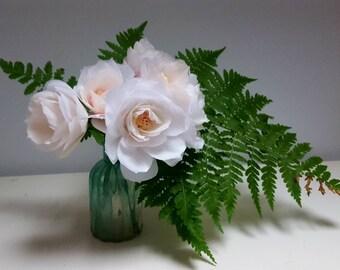 Garden Roses, Paper Flowers
