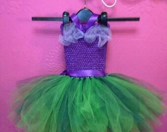 Little mermaid tutu dress, fancy dress costume, dress up for girls
