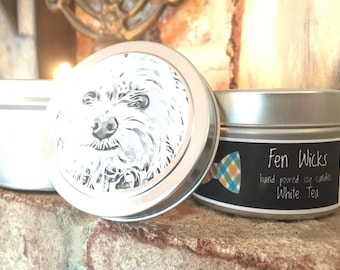 White Tea Hand-Poured Soy Candle