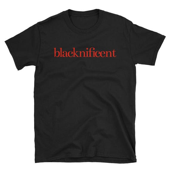 Blacknificent Classic Short-Sleeve Unisex T-Shirt - RED