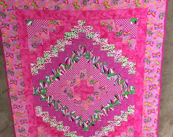 Pink Baby Quilts