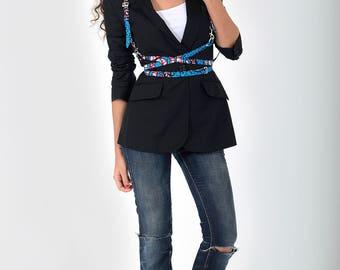 Blue Kamba harness