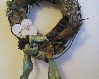 Beautiful natur wreath