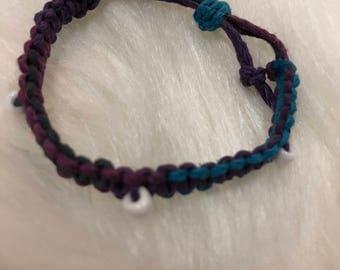 Multi-color Hemp Bracelet