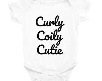 Curly coily cutie bodysuit