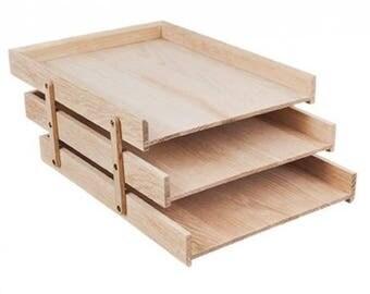 Wooden workbook