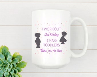 Personalized Childcare Mug Chase Toddlers