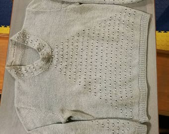 Wool sweater, made in irons