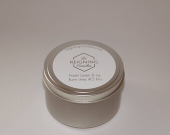 Soy Candle- Fresh Linen