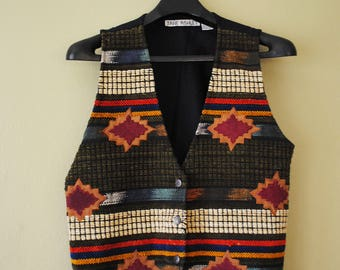 Vintage Jane Ashley Textured Vest