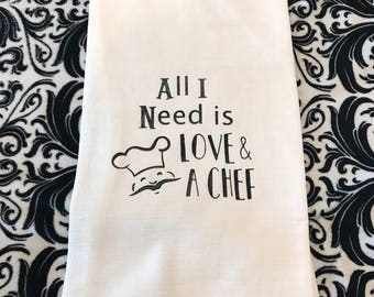 Kitchen Towels with Attitude, flour sack towels, tea towels