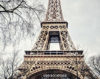 Eiffel Tower Print, Paris Photography, France Photo, Travel Photography, Wall Art, Home Decor