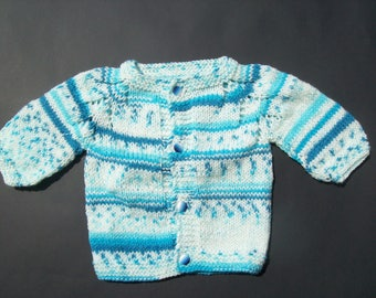 baby's blouse for 2 years, child's blouse with acrylic childhood