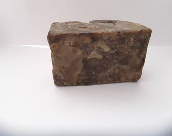 Raw African Black Soap 160 grams