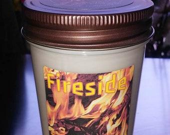 Fireside Jelly jar