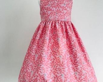 Eve,dresses, girls dresses, party dresses, girls clothing, baby girls clothing, girls fashion, flower fabric, handmade children's dress,