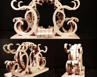 Portal - Elven - Assembled & Unpainted