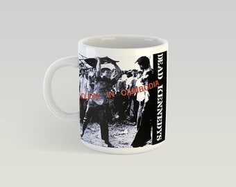 Dead Kennedys Holiday In Cambodia 11oz Coffee Mug Punk Germs Misfits Crucifix 45 Grave Circle Jerks Bad Religion Minor Threat