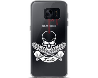 Negan & lucielle TWD fan Samsung Case