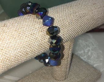 Stretchy beaded bracelet