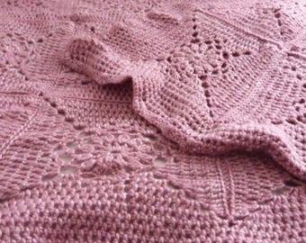 Crochet Large Throw