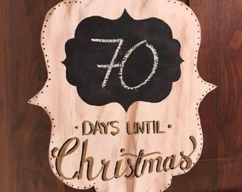 Christmas Countdown Hanger