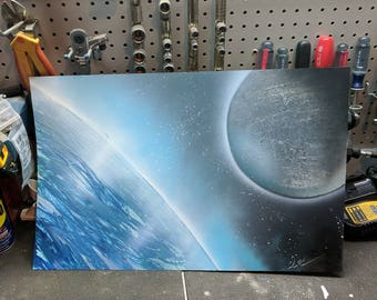 SprayPaintArt | View From The International Space Station