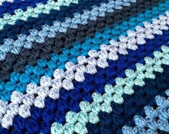 Granny stripe blankets