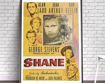 Shane - Film, Movie, Poster