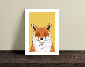 Mr. Fox A5 art print