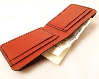 Frank Henry Bi-fold wallet Cognac