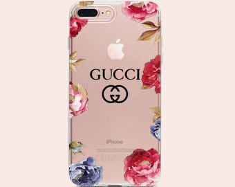 Gucci iPhone 7 case clear iPhone X Case Floral Gucci iPhone 8 plus Case Roses iPhone case Gucci iPhone 6s plus Case Gucci flowers iPhone 10