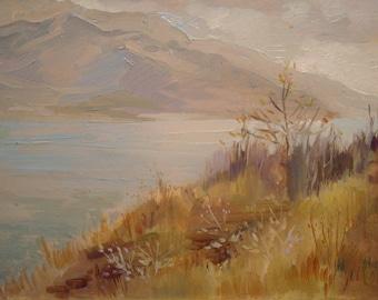 Before rain' painting