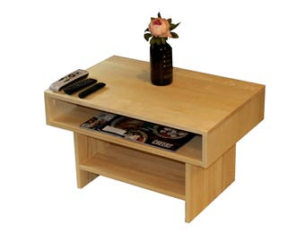 Hardwood Aspen Coffee Table - Made to order 7 days