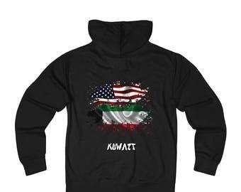 Amwo Zip Hoodie  Usa-Kuwait