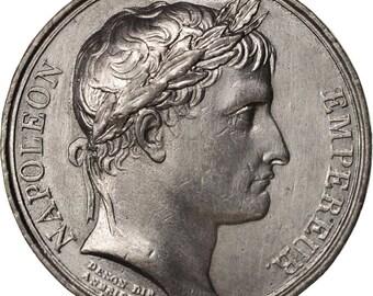 france medal la sénat et le peuple first french empire history 1802