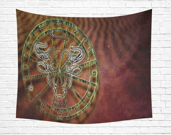 "Taurus Wall Tapestry 60""x 51"" (2 colors)"