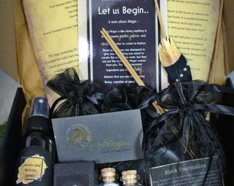 The Cleansing Magic Box, Spell Box, Witch Box, Altar kit, Cleanse, Smudge, Sage, release, Witchcraft