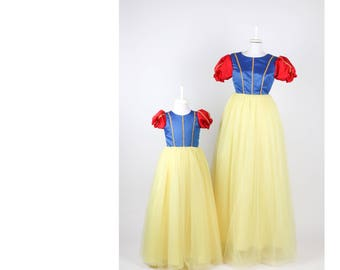 Snow White Mom&Daughter Dress Costume - Only Mom (KidsMothers)