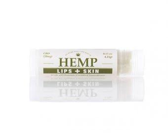 Hemp  Lips + Skin Balm
