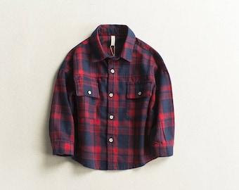 Boys tartan shirt