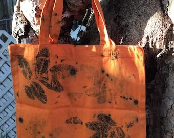 Cotton bag eco print