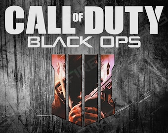 "Call of Duty Black Ops 4 - Poster | 8.5"" x 11"" Poster Decoration High Quality Print"