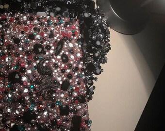 Custom Bejeweled kjv bibles and apocrypha's