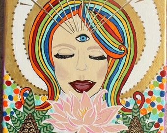 Awakened Lotus Girl